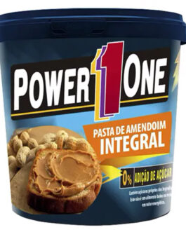 Pasta Amendoim PowerOne 1kg Lisa