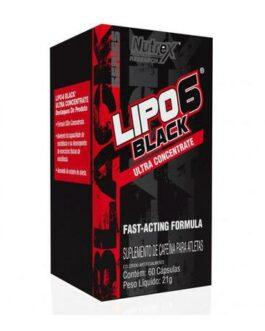 Lipo 6 Black 60cps Nutrex