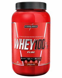Whey 100% Pure  Integralmedica Chocolate  907g