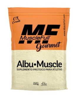 Albumina 450g Morango – MuscleFull