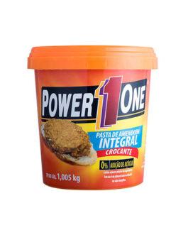 Pasta Amendoim PowerOne 1kg CROCANTE