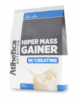 HIPER MASS GAINER W/CREATINE – 3000g – ATLHETICA BAUNILHA