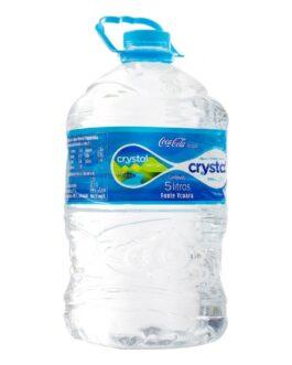 Água Mineral Sem Gás Crystal 5 Litros