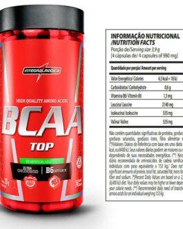 Amino BCAA TOP 4:1:1 (120 Cápsulas) – Integralmédica
