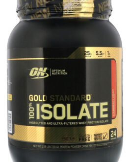 Gold Standard 100% Isolate 1.58Lbs 720g Optimum Nutrition Chocolate