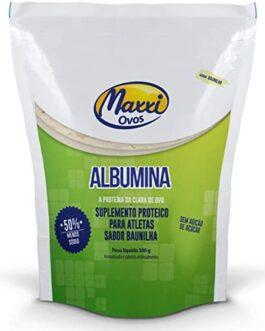 ALBUMINA (500G) Baunilha- MAXXI OVOS