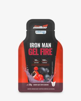 Iron Man Gel Fire 1unid 30g Açai Guarana