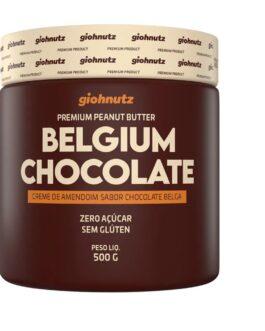 PASTA DE AMENDOIM BELGIUM CHOCOLATE 500G